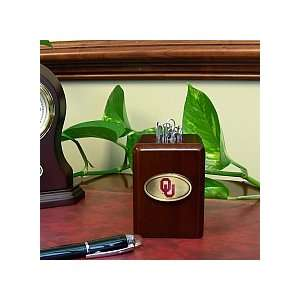 Oklahoma Sooners Official Paper Clip Holder