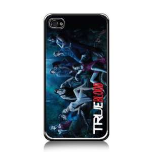 True Blood iPhone 4 Black Hard Plastic Case #02