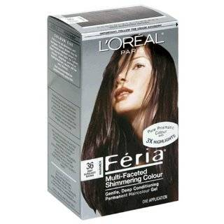 Loreal Feria   36 Chocolate Cherry (Deep Burgundy Brown