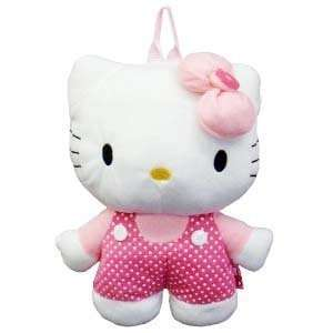 Hello Kitty Plush Backpack Polka Dot Jumper Toys & Games