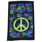 Brunswick Bowling Ball Towel Peace NEW