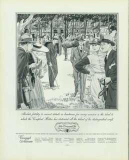 Magazine Ad 1936 John Cavanagh Associates Hatter Gentlemens Hats