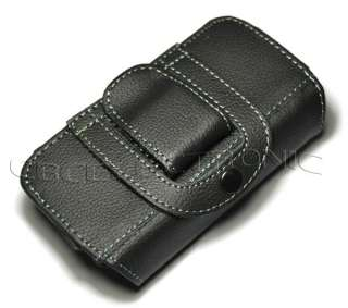 New Black belt clip leather case holster for iphone 4 G