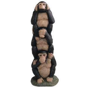 Hear No Evil See No Evil Speak No Evil Monkey Figurine