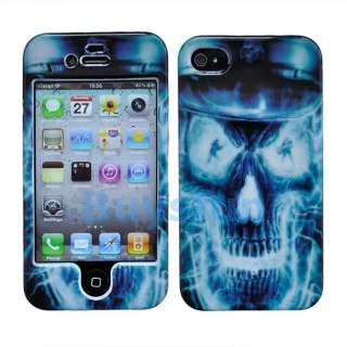 Dragon Skull Hard Cover Case Skin For Apple iPhone 4 4G 4TH
