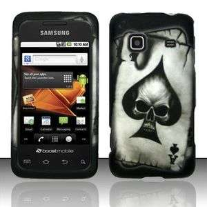 Galaxy Preavail m820 Poker Skull Spade Phone Hard Case Skin Cover