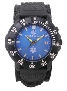 Smith & Wesson EMT EMS Paramedic Wrist Watch Back Glow
