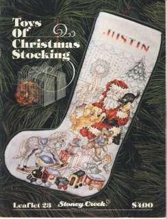 Stoney Creek Toys of Christmas Stocking cross stitch