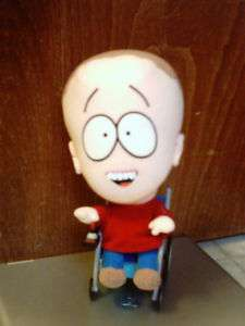 RARE SOUTH PARK TALKING TIMMY/CHAIR PLUSH TOY DOLL FIGURE