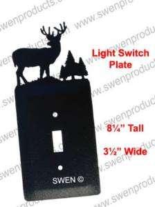 DEER BUCK WILDLIFE Light Switch Plate Cover ~NEW~