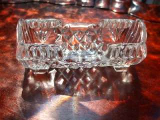 Clear Crystal Toothpick or Business Card Holder