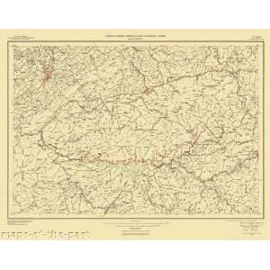 USGS TOPO MAP GREAT SMOKY MOUNTAINS TN/NC 1950  Home