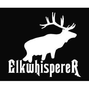 Elk Whisperer Hunting Deer Die Cut Decal Vinyl Sticker   6