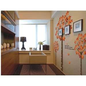 Wall Sticker Decal  Huge Maple Tree 82H x 72W