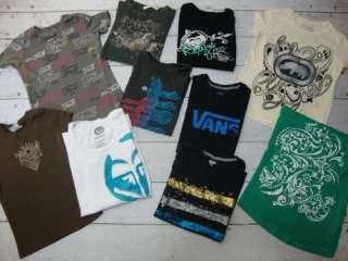ROXY FOX VANS ECKO Ladies Surf Skate T Tee Shirt Top Lot Sz X Small XS