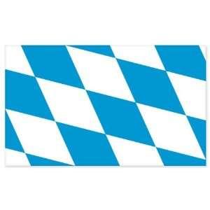 Bavaria Flag car bumper sticker window decal 5 x 3