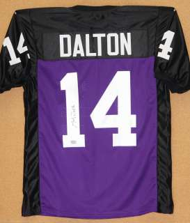 Andy Dalton Autographed TCU Horned Frogs Jersey