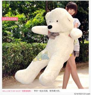 Giant 47 Huge Cuddly Stuffed Plush Teddy Bear Toy Animal Doll 1.2M