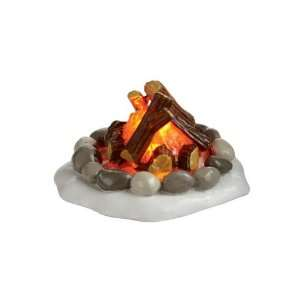 Village Accessories  Lighted Fire Pit