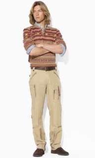 Linen Cargo Pant   Polo Ralph Lauren Cargo   RalphLauren