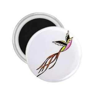 NEW Tattoo Sparrow Bird Fridge Souvenir Magnet 2.25 Free