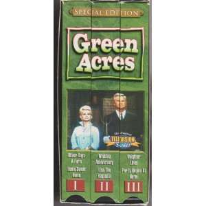 Green Acres [VHS] Eddie Albert, Eva Gabor, Tom Lester