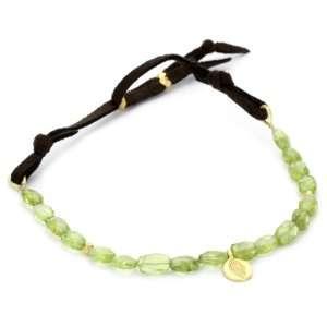 Satya Jewelry Lush Meadows 24K Yellow Gold Bracelet