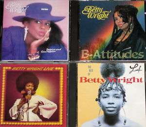 WRIGHT BEST OF/ LIVE/ PASSION/ B ATTITUDES/ LIVE IN CONCERT   4 CDS