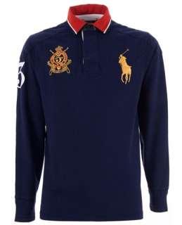 Polo Ralph Lauren Emblem Embroidered Polo Shirt   Tessabit   farfetch