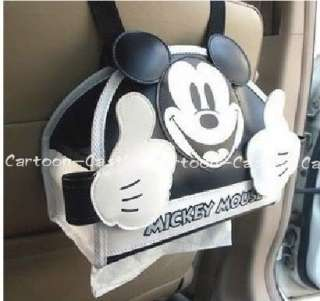 Mickey Mouse Car Auto Hanging Tissue Case Holder