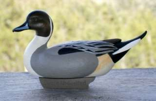 Ducks Unlimited Jett Brunet 2003 Miniature Pintail Duck Decoy Resin