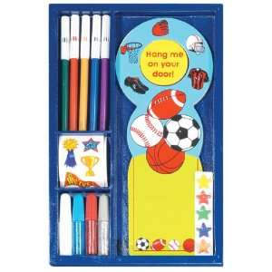 Make Your Own Door Hanger Kit   Sports Toys & Games