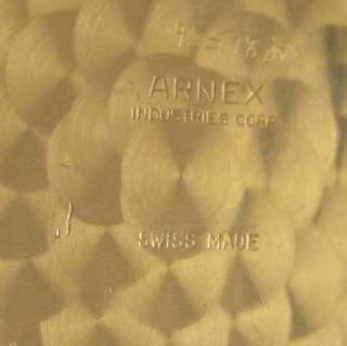 Arnex 70 Swiss Hi Grade 17 Jewels Hunter Pocket Watch PERFECT Just