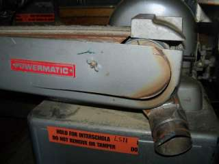 Powermatic Model 30 Belt/ Disc Sander