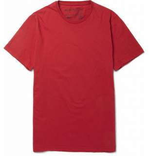 Clothing  T shirts  Crew necks  Crew Neck Cotton T Shirt