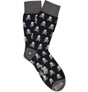 Accessories  Socks  Casual socks  Skull and