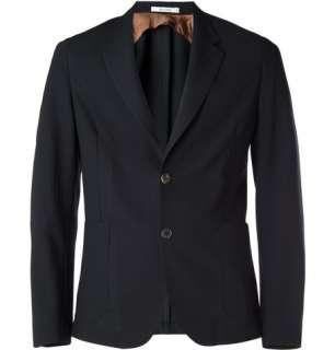 Clothing  Blazers  Single breasted  Lightweight Wool Blazer