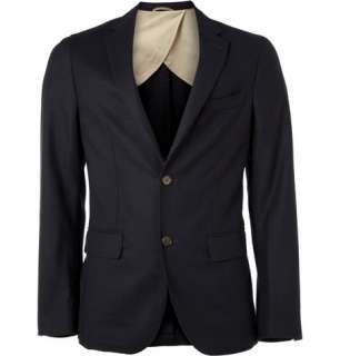Blazers  Single breasted  Two Button Wool Blend Blazer