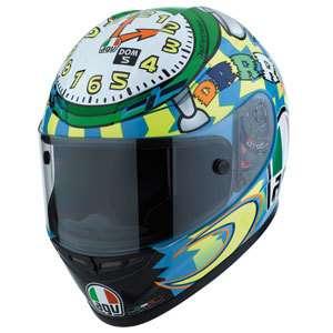 Motorradhelm AGV GP Tech Gr. XS Valentino Rossi WAKE UP NEU Limited