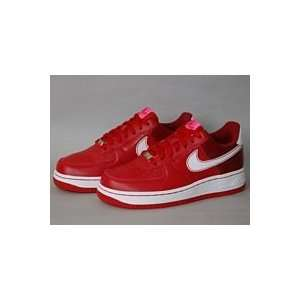 Bandana Fever :: Nike Womens Air Force 07 (Varsity Red/Team Red/White