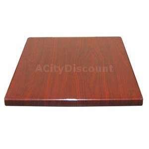 36 Round Resin Square Table Top with Finish Options Home & Kitchen