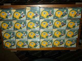 24 Aaron Rodgers Matt Flynn rc Jordy Nelson rookie Packers lot Helmet