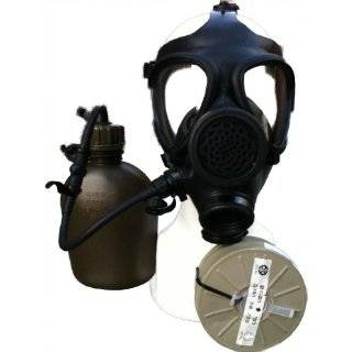 Israeli Civilian Military Gas Mask w/ Nato Filter  Sports