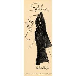 1948 Ad Shalimar Ladies Gloves Merrill Clark Meinig NYC
