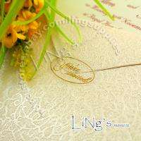 120 Wedding Envelope GOLD Sticker Seal YOURE INVITED