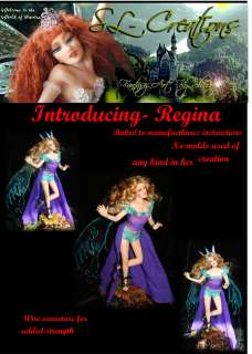 OOAK Fairies Fairy Fanasty Art Figure sl creations ADSG IADR