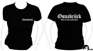 OSNABRÜCK * FAN * GIRL SHIRT GIRLIE TOP XS S M L XL XXL
