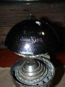 Vintage JUICE KING JUICER White 1950s Kitchen