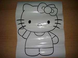 Hello Kitty Aufkleber Auto sticker Wand,Tapete, Spiegel