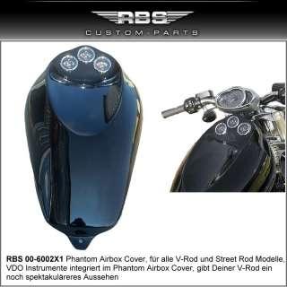 RBS V Rod Night Rod Lampe Harley Davidson Airbox Cover Performance CNC